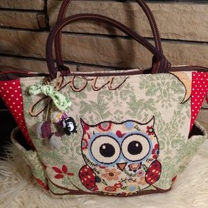 """Charkorn owl purse """"love you to moon and back"""""""